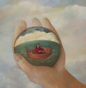 Image courtesy of Norfolk-based artist, Nicola Slattery. View her enchanting work at www.nicolaslattery.com