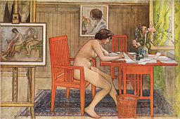 Carl Larsson [Public domain or Public domain], via Wikimedia Commons